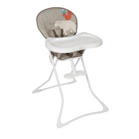 La chaise haute - Facile d'utilisation