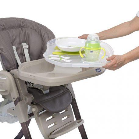 La chaise haute - transat pour bébé - Ultra confortable et pratique
