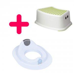 Marche-pied et réducteur de toilette