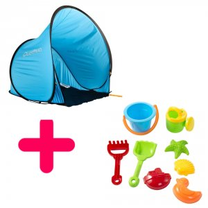 Kit Tente pop-up et jeux de plage